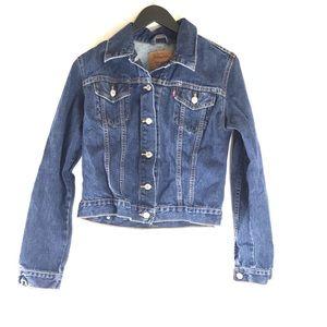 Vintage Levi's Denim Blue Jean Jacket
